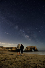 IMG_3139sf (M_Johns) Tags: milky way santa cruz couple lover prewedding mjohns travel long exposure wide california