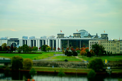Berlin Political Center (*Capture the Moment*) Tags: panorama berlin water toy wasser parliament reichstag spree regierungsviertel tiltshift 2015 schweizerbotschaft riverspree elemente governmentalbuildings panoramablick swissembassy