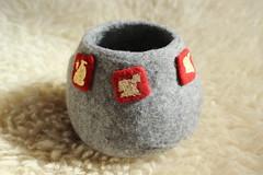 Filzschale (gardendreamhouse) Tags: wool felted felting handmade felt handcraft wol filz schale wolle filzen wetfelting handgemacht nassfilzen handgrafted