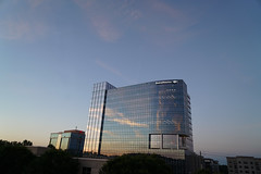 Bank of America Tower (Visit North Hills) Tags: sunset office midtown offices northhills bankofamericatower parkdistrict bofatower midtownraleigh jonmasterson