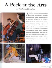 A Peek at the Arts (Hunter College Archives) Tags: music students arts piano yearbook cello 1998 hunter performances huntercollege studentperformances wistarion thewistarion