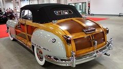 '48 Chrysler Town & Country #3 (artistmac) Tags: cars 1948 vintage town antique auction indianapolis country woody indy townandcountry indiana convertible area chrysler gavel automobiles 48 staging woodpaneling representative towncountry in mecum realwood stagingarea showyourauto patrickkrook