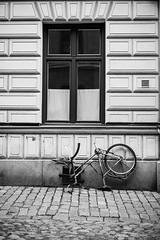 Tavastgatan (@lattefarsan) Tags: street blackandwhite bw bicycle stockholm attackfoto