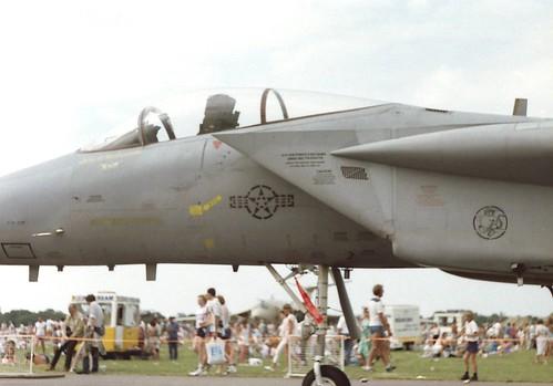 USAF F-15 at Manston 1987