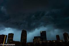 Rotterdam (@mvkooten) Tags: cloud holland netherlands twilight rotterdam thunderstorm lightning weer wolk onweer noodweer