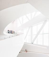 Muse National des Beaux-Arts du Qubec - Pavillon Pierre-Lassonde by OMA - Office for Metropolitan Architecture (dezjeff) Tags: canada architecture nikon quebec oma architecturephotography musenationaldesbeauxartsduqubec mnbaq dezjeff
