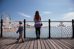 Memory - 144 - (maxjomoore1993) Tags: canon photography sunny warm framing composition lines leading pier girl fun wheel water blue thirds brighton child holiday