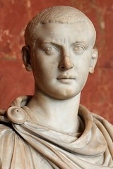 Ancient Rome. Marble Bust of Emperor Gordian III (238 - 244 AD) (mike catalonian) Tags: male bust marble emperor ancientrome 3rdcenturyad gordianiii crisisofthethirdcentury