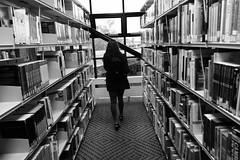 (BDermott97) Tags: blackandwhite bw black liverpool library