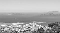 Erice (Lord Seth) Tags: 2015 d5000 erice favignana landscape levanzo lordseth marettimo paesaggio sicilia bw biancoenero borgo isoleegadi italy medievale nikon panorama trapani