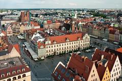 Wroclaw from postcard (Grzesiek.) Tags: wroclaw wrocaw rynek marketsquare architecture architektura