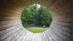 Through the Looking Stone (Ian^W) Tags: outdoors scotland hdr overtounhouse oldkilpatrickhills