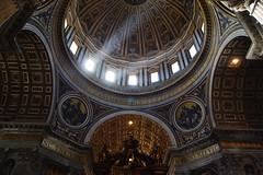 San Pietro (ilaaash) Tags: light italy rome roma art basilica sanpietro