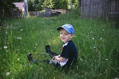 Tima. (Stas_Ko) Tags: boy portrait green kids 35mm canon outdoor prinzflex 5dm2