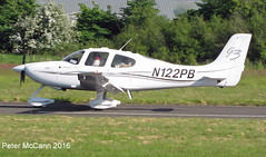 N122PB SR22 Fife 2016 (pmccann54) Tags: glenrothes cirrussr22 n122pb fiferegionalairport