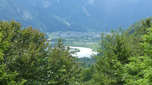 Blick auf den Lech vom Kalvarienberg