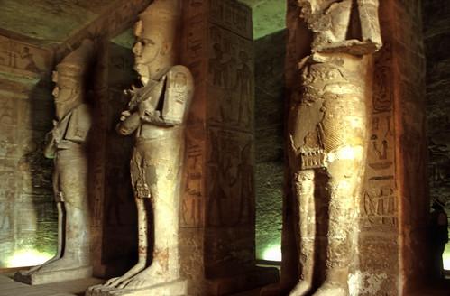 "Ägypten 1999 (124) Assuan: Im Großen Tempel von Abu Simbel • <a style=""font-size:0.8em;"" href=""http://www.flickr.com/photos/69570948@N04/27481479775/"" target=""_blank"">View on Flickr</a>"