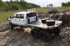 Ford F-350 6 door 6wd 19 (My Scale Passion) Tags: ford 6x6 scale rock truck bed flat micro extended rc mrc f350 crawler lifted losi 6wd 6door myscalepassion