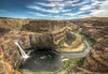 Palouse Falls (GeoShubin) Tags: park blue sky water river waterfall washington rocks desert state pacific northwest canyon falls gorge pnw palouse