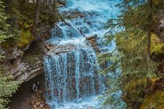 MH5_9233 (memories by Mark) Tags: rockies waterfall alberta banff rockymountains banffnationalpark johnstoncanyon