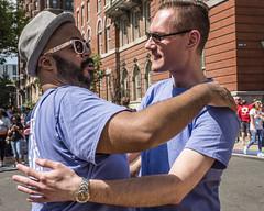 Philadelphia Pride Parade, 2015 (Alan Barr) Tags: street people color philadelphia lumix candid group streetphotography pride panasonic sp streetphoto gaypride 2016 gx8