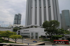 Various Scenes Out and About in Singapore (May 2016) (cseeman) Tags: city urban streets cars water buses buildings singapore downtown commerce skyscrapers centralbusinessdistrict doubledeckerbuses downtowndistrict centralbusiness singapore2016