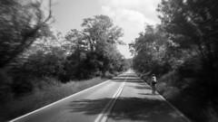 country roads (Marm O. Set) Tags: road blackandwhite film monochrome bike bicycle analog 35mm canon virginia ride kodak rangefinder olympus xa2 developer 35mmfilm analogue olympusxa2 tmax400 canoscan filmscan kodaktmax blackandwhitefilm 35mmblackandwhite tmaxdeveloper 9000f canoscan9000f canoscan9000 9000fmarkii canoscan9000fmarkii wildernessroadride