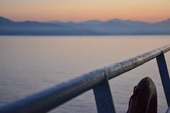 Arrive (Dorian Duplex) Tags: voyage mer ferry port soleil corse peinture reflet ciel maritime cote bateau paysage navigation controle signe symbole vitesse geometrie ecume coque navire manoeuvre traverse carene commande commandant sillage arseille