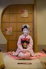 16 Years old maiko called chikasaya, Kansai region, Kyoto, Japan (Eric Lafforgue) Tags: show portrait woman white beautiful beauty face japan vertical female hair asian japanese clothing eyes kyoto colorful asia pretty sitting feminine painted young culture makeup front grace indoors teen maiko geisha teenager kimono gion tradition fullframe oriental youngadult solitary hairstyle youngwoman apprentice sparse oneperson elaborate kanzashi lookingatcamera 1617years oneyoungwomanonly 1people kansairegion japaneseethnicity colourpicture chikasaya japan161702 komayaokiya