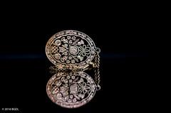 Gran's Necklace! (BGDL) Tags: silver necklace scottish grans scots filigree odc nikond7000 bgdl afsmicronikkor40mm128g lightroomcc