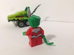 Beast Boy Mighty Micro - 3 (legobagel521) Tags: beast boy lego mighty micro dc micros comic