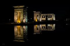 Galctica (Jos Hidalgo) Tags: madrid nocturna reflejos debod iluminacin nikonflickraward