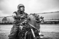 DJ2I4522 (BlackVelvetElvis) Tags: mad max motorcycle madmaxrun roadwarrior madmaxmotorcycle run cosplay milwaukee wasteland apocalypse apocalyptic postapocalyptic apoc