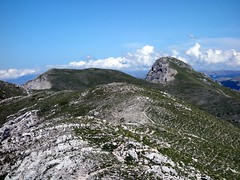 A closer view of Pizzo Deta from Monte Fragara (markhorrell) Tags: walking lazio apennines montiernici