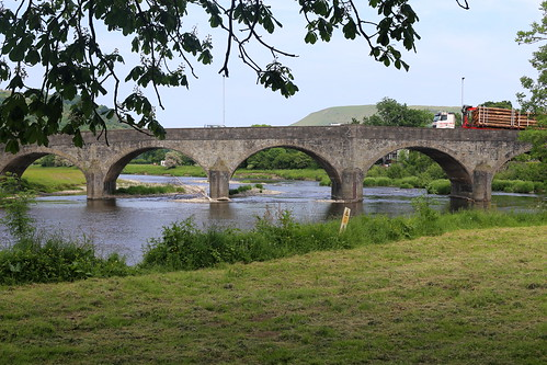 Bridge over the River Wye at Builth Wells
