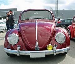 1959 VW 1-11 (crusaderstgeorge) Tags: red cars vw sweden gvle german 111 sverige classiccars 1959 redcars gvleborg crusaderstgeorge gefleluftvwaffe 1959vw111
