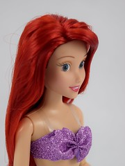 2016 Ariel Classic 12'' Doll - US Disney Store Purchase - Deboxed - Standing - Portrait Left Front View (drj1828) Tags: disneystore doll 12inch classicprincessdollcollection 2016 ariel purchase deboxed standing