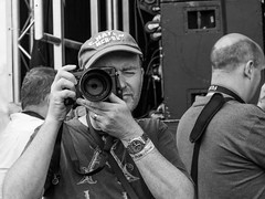 Press Africa Oye 2016 (cathbooton) Tags: camera blackandwhite june liverpool press canoneos seftonpark cameraman merseyside canonusers africaoye