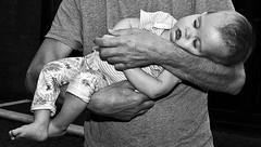 ZELLWEGER UK , FAMILY DAY .. DARBY (symehawk) Tags: uk family people bw white black portraits children birmingham darby gr ricoh genetics zuk zellwegersyndrome symehawk zellwegeruk