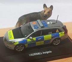 1/43 Silver Vauxhall Insignia Dog Section Met/Metropolitan Police London (CarCal999) Tags: policecar vauxhall