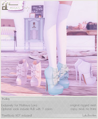fri.day - Lulu.Booties coming to The Crossroads! (Darling Monday) Tags: friday maitreya thecrossroads