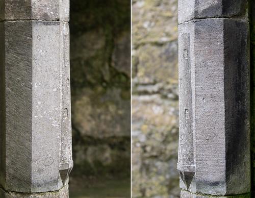 Rosserk Friary Round Tower profiles
