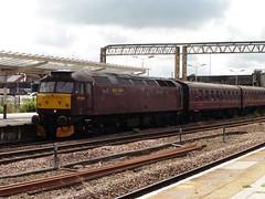 West Coast Railways 47854 (North West Transport Photos) Tags: train diesel loco chester locomotive railtour 47 ctr wcr diesellocomotive class47 47832 47854 westcoastrailways