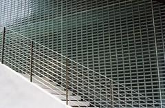 Project 72 - Thong Lo, Bangkok (35mm) (jcbkk1956) Tags: film glass wall architecture stairs analog 35mm fence design bangkok bricks steps tiles manual carlzeiss kodacolor200 thonglo contaxrts 45mmf28 worldtrekker