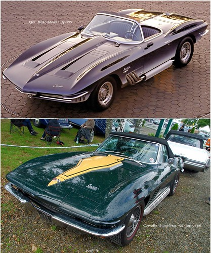 1961 Mako Shark I = Corvette Sting Ray