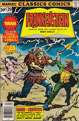 Marvel Classics Comics 20 (micky the pixel) Tags: comics comic frankenstein marvel heft stanlee maryshelly marvelclassicscomics