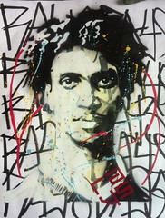 Sam (Rays stencil art) Tags: street portrait streetart newyork paris roma berlin london art painting tokyo stencil artist grafitti drawing graf peinture draw aerosol pochoir