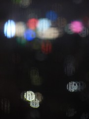 Bokeh behind the rain 2 (sophiamadeleine) Tags: abstract rain bokeh