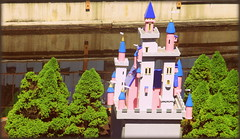 IMG_7165 (gwynyfier) Tags: pink blue newyork castle bush amusementpark greatescape shrubery