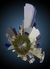 Houston Skyline mini planet Texas (DigiDreamGrafix.com) Tags: park urban panorama usa grass horizontal skyline architecture america buildings landscape us cityscape texas skyscrapers unitedstates tx unitedstatesofamerica houston mini panoramic american planet northamerica greenery balance lawns urbanscenes memorialpark northamerican